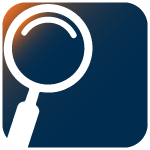 Accountability Icon - magnifying glass